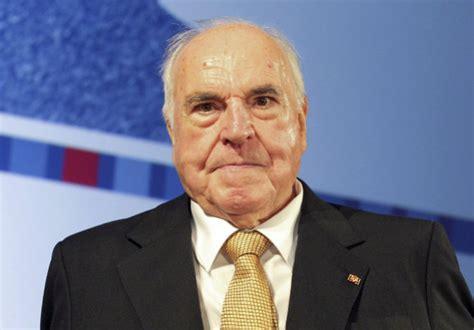 foto de El excanciller alemán Helmut Kohl fallece a los 87 años de