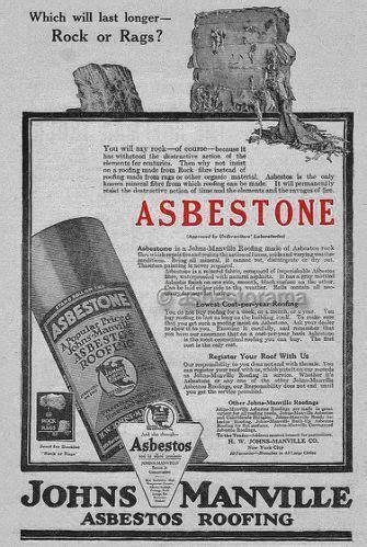vintage asbestos ads asbestos mesothelioma  ads
