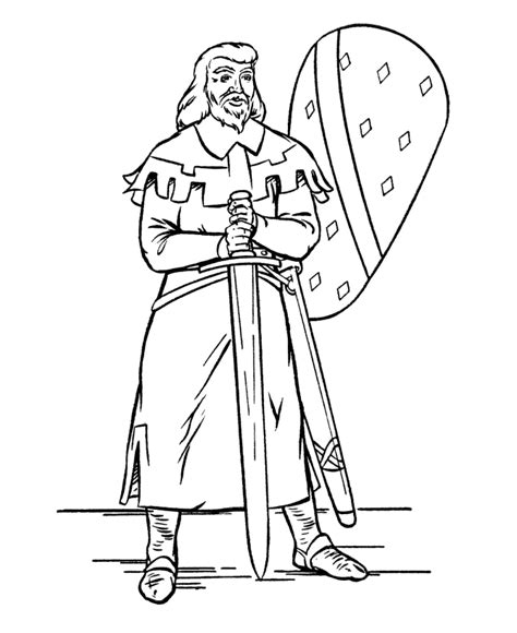 sword disegni da colorare is holding a sword and coloring