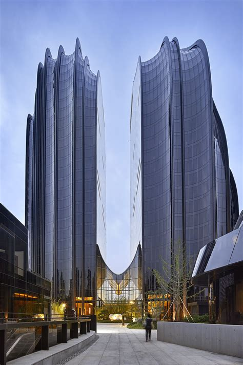 mad architects completes chaoyang park plaza  beijing