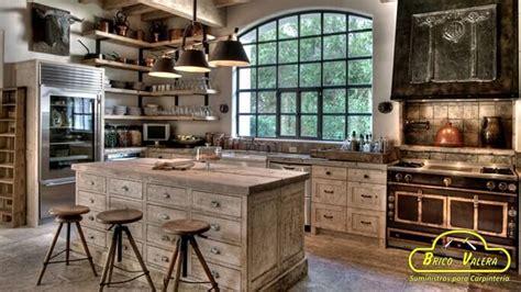 cocinas rusticas elegancia de madera blog wwwbrico