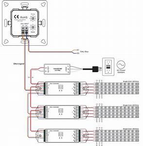 Single Color Group U0026scene Control Push Button Dali Panel Sr