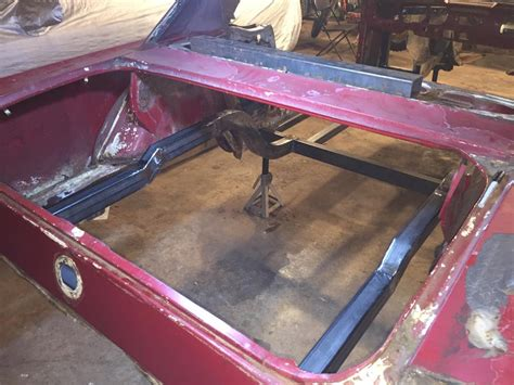 payback garage built full frame  fastback conversion