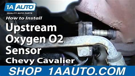 install replace front upstream oxygen  sensor