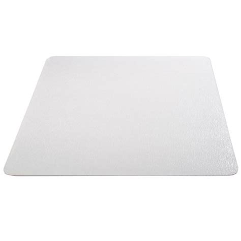 office marshal eco series chair mat with lip for carpet