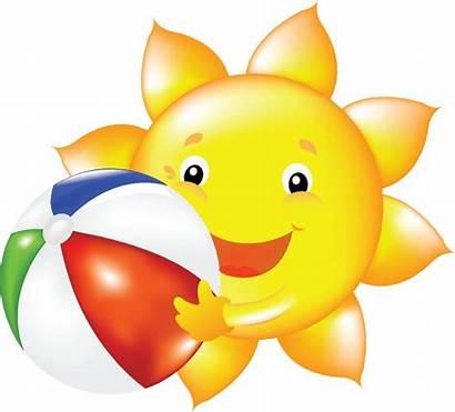 Sun Clip Smiley Faces
