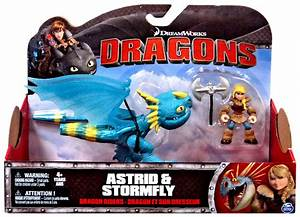 Astrid & Stormfly Action Figure 2-Pack How to Train Your ...