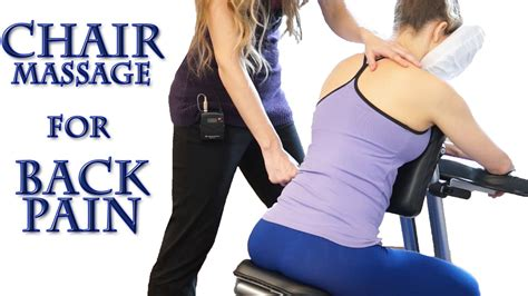 how to chair for back neck shoulders back