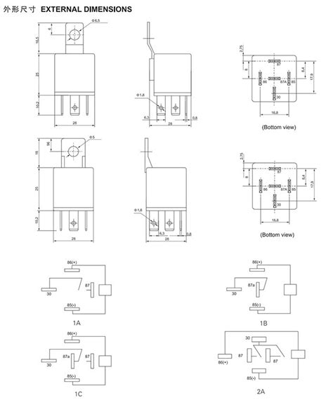 5 relay application auto electrical wiring diagram