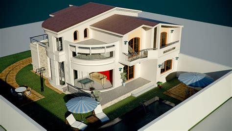 plan villa moderne 3d model villa moderne maison moderne