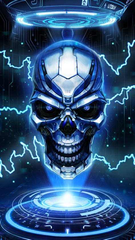 cool skull  wallpaper android  wallpapers