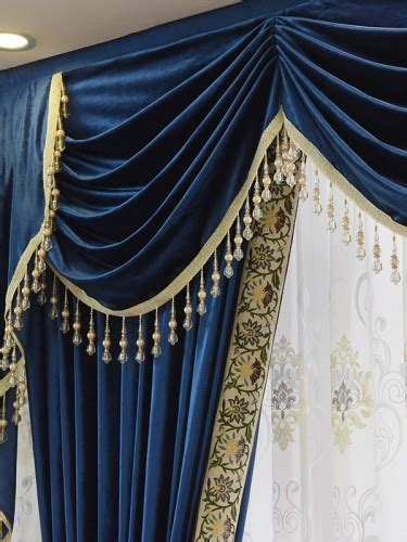 Blue Green Valance by New Arrival Twynam Blue And Green Waterfall And Swag