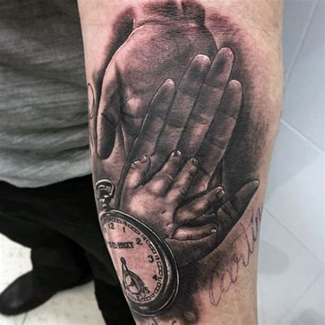 family tattoos  men meaningful designs