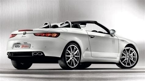 2013 Alfa Romeo Spider, 2012 Giulia To Be Based On