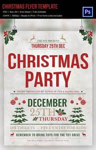 30 christmas flyer templates psd vector format download free premium templates
