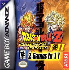 Dragon Ball Z The Legacy Of Goku I U0026 Ii Box Shot For Game