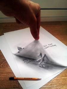 Artist Sketches Mind-Bending 3D-Illusions On Paper ...