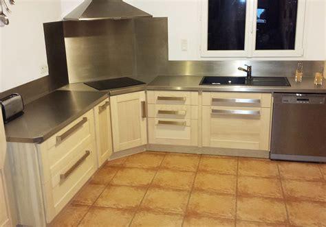 inox pour cuisine espace cuisine atelier du sur mesure