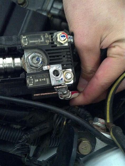 wtb evo  positive battery fusible link evolutionm