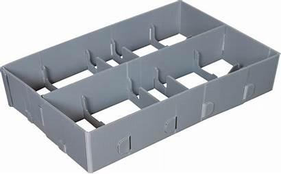 Cardboards Packaging Plastic Returnable Sk