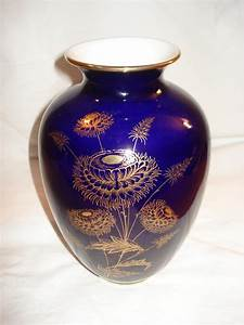 Echt Kobalt Vase : vase echt kobalt gold von royal kpm cobaltblau mit ~ Michelbontemps.com Haus und Dekorationen