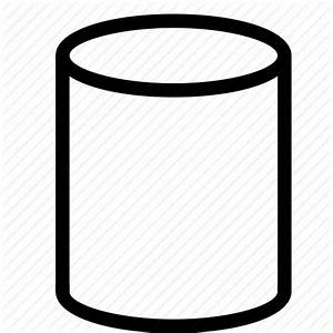 3d, cylinder, design, geometry, shape icon | Icon search ...