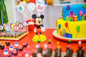 Kara's Party Ideas Mickey Mouse and Friends Birthday Party ...