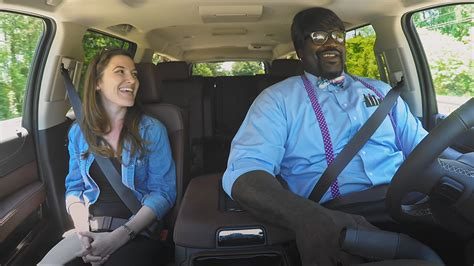 "Shaq Went ""undercover"" As A Lyft Driver In Atlanta And No"