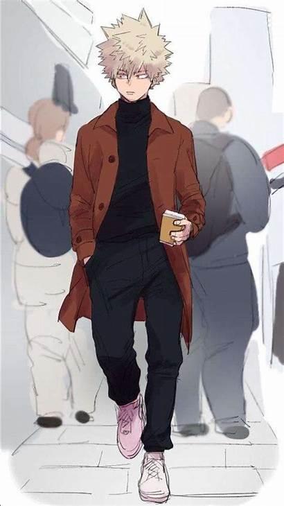 Hero Academia Bakugou Bakugo Katsuki Boku Anime