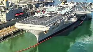 Aerial View Of Pearl Harbor Naval Base - YouTube