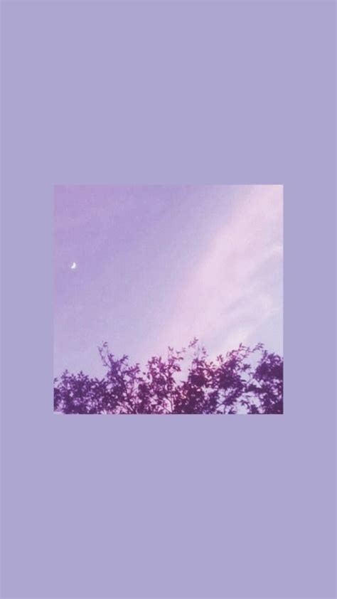 aesthetic pastel purple wallpaper iphone