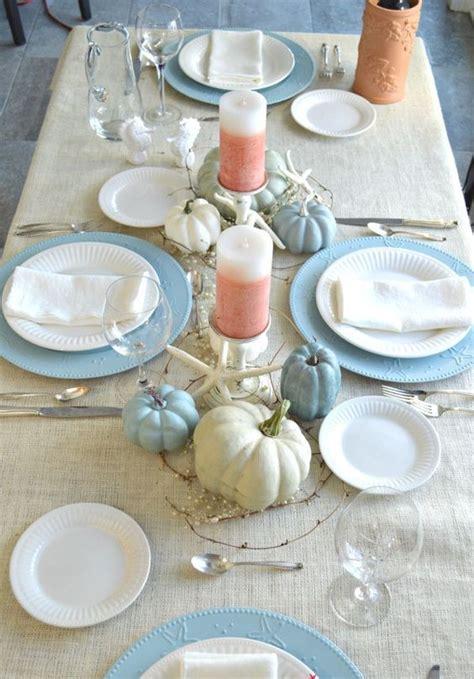 coastal thanksgiving decor ideas shelterness