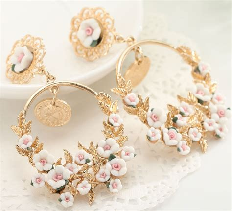 light weight long party wear indian jhumka earrings