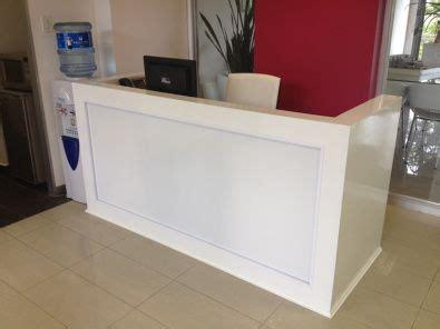 diy reception desk reception desk design salon