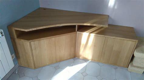 plaque cuisine conception et fabrication d un meuble tv d angle sur
