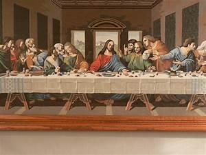 Large Last Supper Original Painting by LittleSistersSecret ...