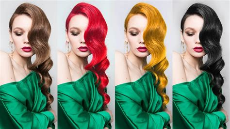 change hair color  blackgoldbrownred photoshop tutorial photoshopdesirecom youtube