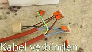 Glühbirnenfassung Mit Kabel : tutorial kabel verbinden wago klemmen in verbindung mit gu10 fassung youtube ~ Orissabook.com Haus und Dekorationen