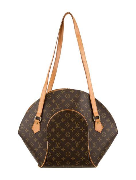 louis vuitton ellipse shopper gm handbags lou  realreal