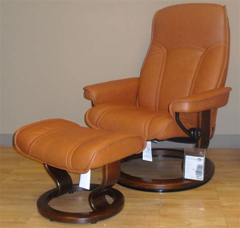 Gouverneur Ottoman by Stressless Governor Leather Recliner Chair