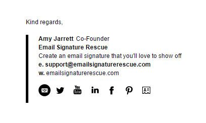 Email Signature Template Inspiration by 200 Beautifully Crafted Inspiring Email Signature Exles
