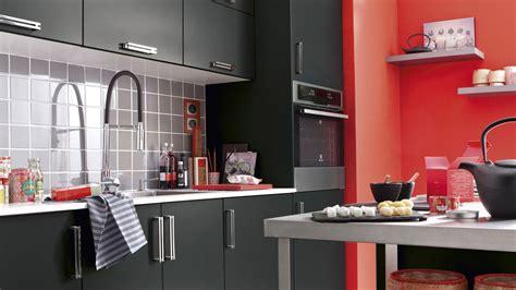 deco cuisine noir cuisine noir idées de décoration et de mobilier