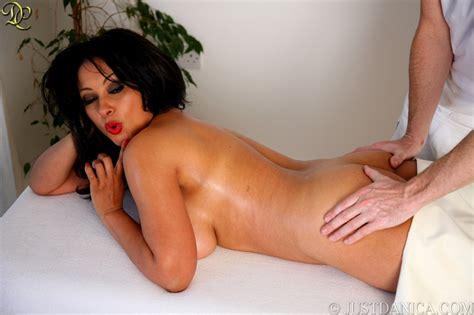 Sexy Danica Gets Her Curvy Body Massaged Boobgoddess