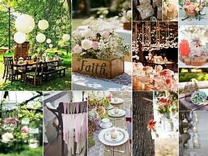Decoration Mariage Boheme : le jour j mariage de marie fabien ~ Melissatoandfro.com Idées de Décoration