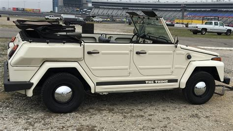 1974 Volkswagen Thing Type 181 Convertible