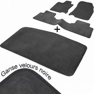 Tapis Sur Mesure : tapis auto nissan murano z50 aspect velours noir complet coffre ~ Medecine-chirurgie-esthetiques.com Avis de Voitures