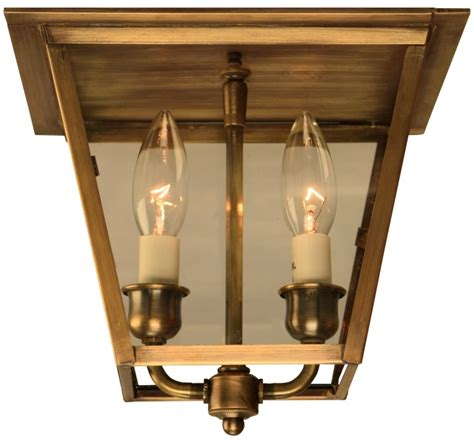 colonial flush mount ceiling lights carolina colonial electric copper ceiling lantern light
