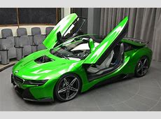 Lava Green BMW i8 Is Serious Eye Candy