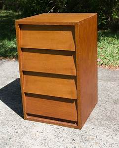 Small Timber Chest Of Drawers 45cm W X 46cm D X 76cm H