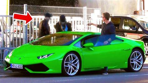 Lamborghini Gold Digger Prank  Rich Kid Tank Prank Youtube